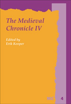 Medieval Chronicle Society - The journal The Medieval Chronicle