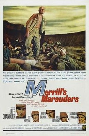 Merrill's Marauders (film) - Original film poster