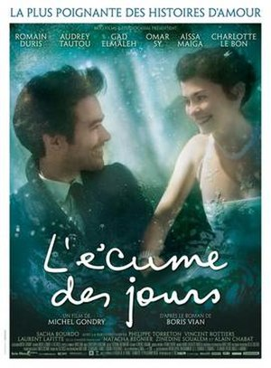 Mood Indigo (film) - French theatrical release poster