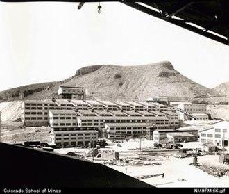 Morenci, Arizona - Image: Morenci Conc 1942