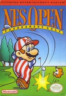 <i>NES Open Tournament Golf</i> 1991 golf video game