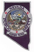 Patch of the Nevada Highway Patrol