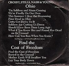 Ohio Crosby Stills Nash Young Song Wikipedia