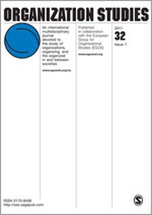 Organization Studies (journal) - Image: Organization Studies