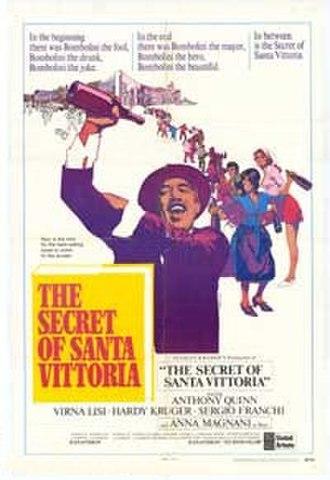 The Secret of Santa Vittoria - Theatrical release poster by Bob Peak