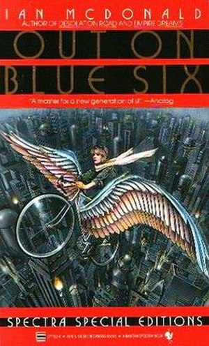 Out on Blue Six (novel) - First edition paperback cover