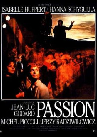 Passion (1982 film) - Image: Passion 1982 poster