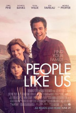 People Like Us (film) - Theatrical release poster