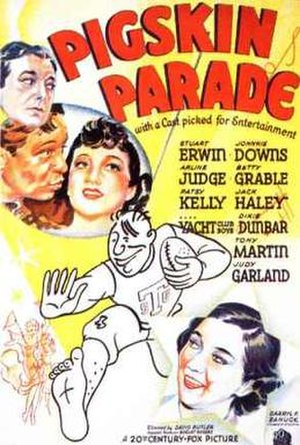 Pigskin Parade - Promotional movie poster for the film