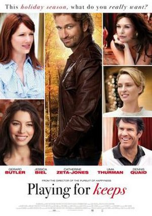 Playing for Keeps (2012 film) - Theatrical release poster