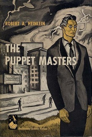 The Puppet Masters - US First Edition dust jacket cover