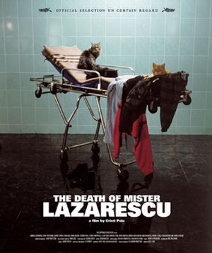 The Death of Mr. Lazarescu - Cannes Film Festival poster