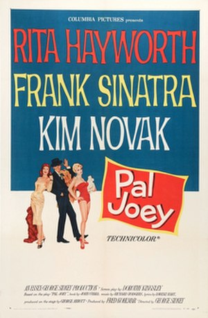 Pal Joey (film) - Image: Poster Pal Joey 01