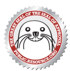 Public.Resource.Org - The Great Seal of the Seal of Approval.
