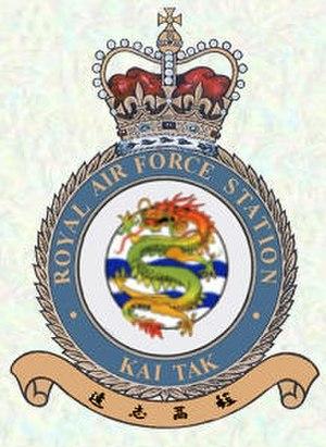 RAF Kai Tak - Image: RAF Kai Tak Crest