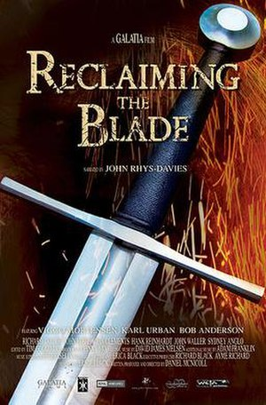 Reclaiming the Blade - Image: Reclaiming The Blade poster