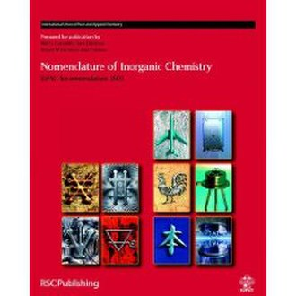 IUPAC nomenclature of inorganic chemistry - The front cover of the 2005 edition of the Red Book