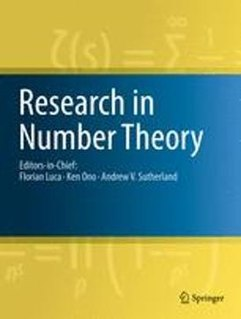 <i>Research in Number Theory</i> Academic journal