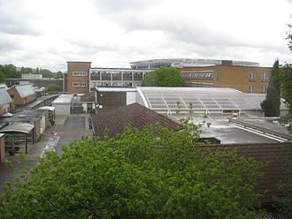 Richmond upon Thames College - A view of several department buildings of the college