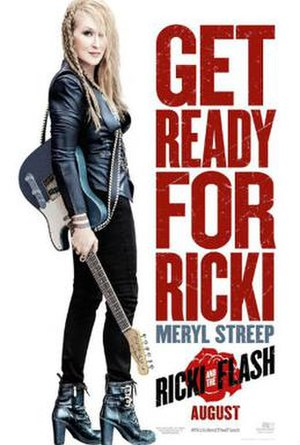 Ricki and the Flash - Theatrical release poster