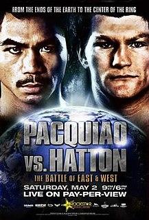Manny Pacquiao vs. Ricky Hatton