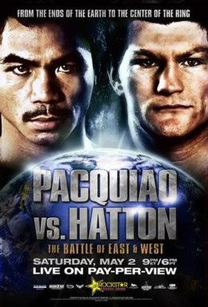 Ricky Hatton vs. Manny Pacquiao