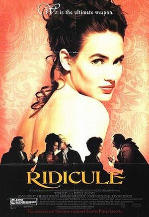 Ridicule - Theatrical poster