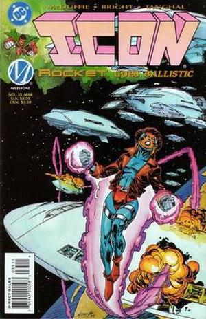 Rocket (comics) - Image: Rocketdcu 0