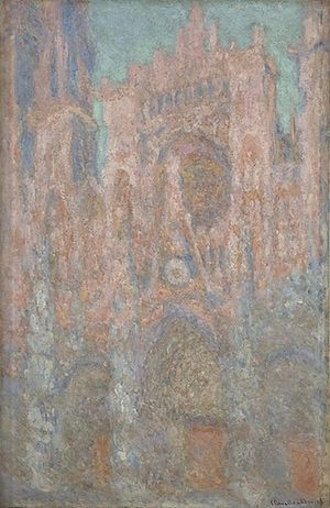 Rouen Cathedral (Monet series) - Image: Rouen Cathedral Serbia 05