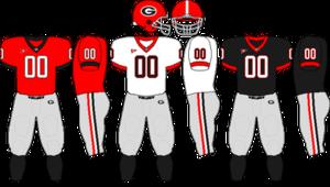 2007 Georgia Bulldogs football team - Image: SEC Uniform UGA 2007 2008