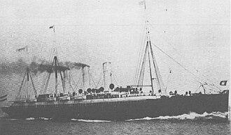 Spanish cruiser Rapido - Image: SS Columbia (1889)