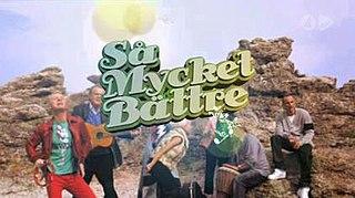 <i>Så mycket bättre</i> TV4 Sweden programme
