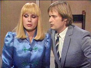 Sapphire & Steel - Joanna Lumley and David McCallum as Sapphire and Steel (from Adventure 3).
