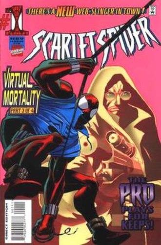 Scarlet Spider (comic book) - Image: Scarlet Spider volume 1 First
