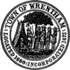 Official seal of Wrentham, Massachusetts