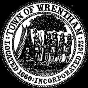 Wrentham, Massachusetts - Image: Seal of Wrentham, Massachusetts