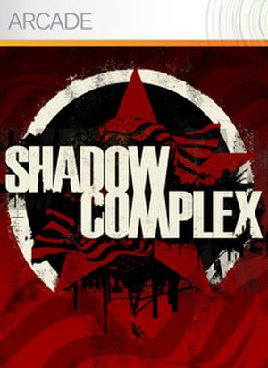 Shadow Complex - XBLA cover art