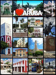 Oranjestad, Aruba Capital of Aruba