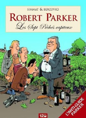 Robert Parker: Les Sept Pêchés capiteux - Cover of the French edition