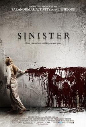 Sinister (film) - Theatrical release poster