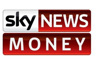 Sky News Business Channel - Sky News Money logo, used when the channel is rebranded during primetime on weekdays