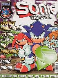 Statemaster Encyclopedia Sonic The Comic