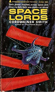 <i>Space Lords</i> (short story collection) book by Cordwainer Smith