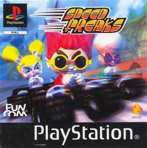 Speed Freaks - PAL version cover art