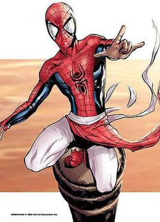 Alternative versions of Spider-Man - Image: Spider Man India