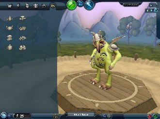 Spore (2008 video game) - Tribal phase clothing editor