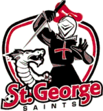 Logo of the St. George Saints FC