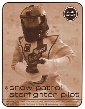 Starfighter Pilot (song) - Magazine clipping advertising the release of the singles.