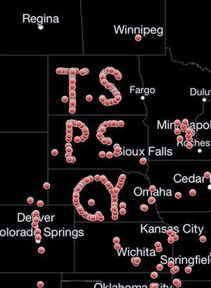 2013 El Reno tornado - Storm spotter tribute to Tim Samaras, Paul Samaras, and Carl Young across the Plains on June 2.