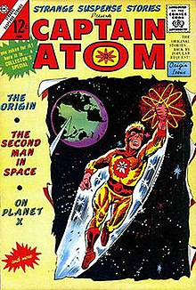 Image result for charlton comics captain atom